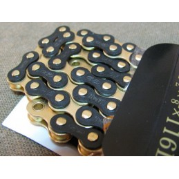 IZUMI Jet Black chain Black-GOLD