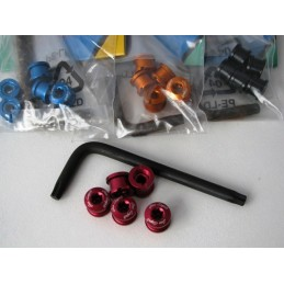 DIA-COMPE Chainring bolt nut set