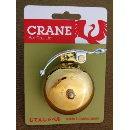 5 Crane bells SUZU Brass gold