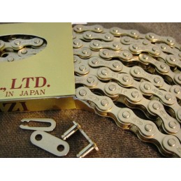 IZUMI Standard Track chain Gold